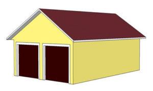 план гаража без отдельного входа